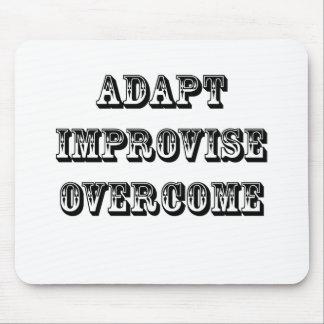 Adapt-Improvise-Overcome Mouse Pad