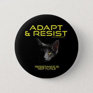 Adapt  & Resist 2 Inch Round Button
