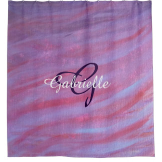 Adaptable Bath | Custom Girly Pink Purple Zebra |