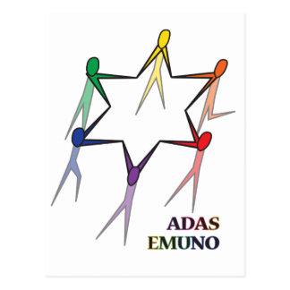Adas Emuno Postcard
