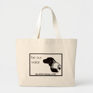 ADAV - Design by Beth Large Tote Bag
