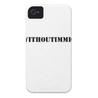 #adaywithoutimmigrants Case-Mate iPhone 4 case