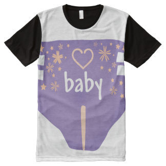 ADBL all over/Baby 4 life/Diaper Lover/All over t