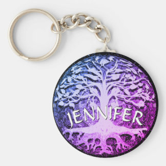 Add a Name | Butterfly Tree Keychain