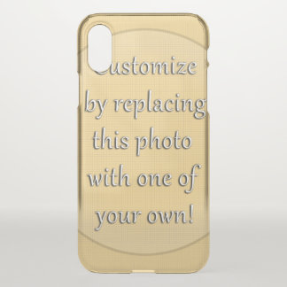 Add a Photo to Customize iPhone X Case