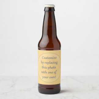 Add a Photo to Customize this... Beer Bottle Label