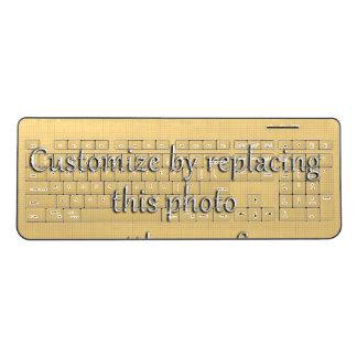 Add a Photo Wireless Keyboard