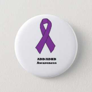 ADD/ADHD Awareness Button