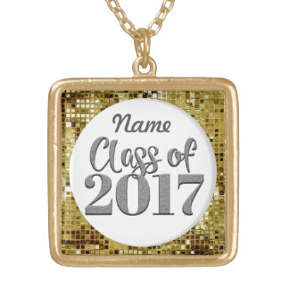 Add Any Name Class Of 2017 Graduation Necklace