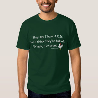 ADD Full of Chickens (white) Tshirts
