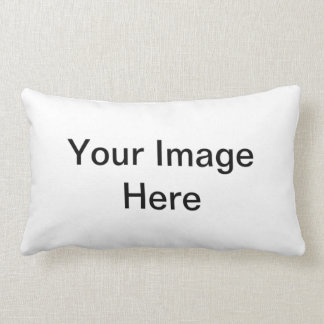 Add Image Text Logo Here Make Your Own Cool Design Lumbar Pillow