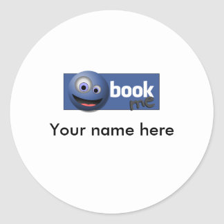 Add Me Classic Round Sticker