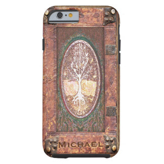 Add Name | Antique Book Tough iPhone 6 Case