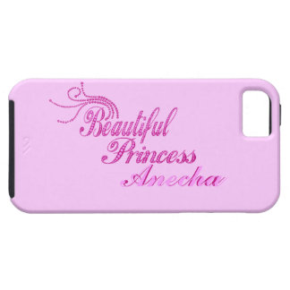 Add Name Beatiful Princess Print iPhone 5 Case