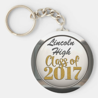 Add Name Class Of 2017 Graduation Keychain