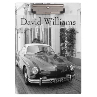 Add name|Classic car Karmann Ghia Clipboard