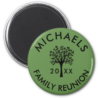 Add Name Year Family Reunion Souvenir Gift Magnet