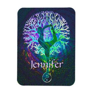 Add Name | Yoga Tree Magnet