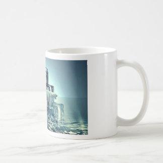 Add Own SLOGAN To Save Arctic Polar Bear Planet Coffee Mug