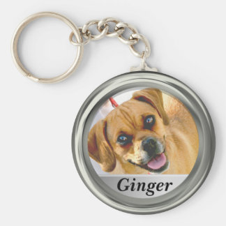 Add Photo And Name Custom Keychain