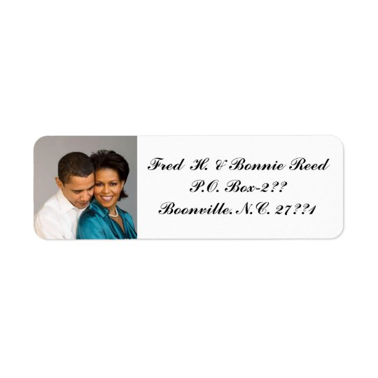 ADD PHOTO-RETURN ADDRESS LABEL