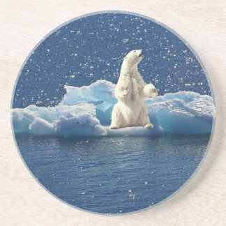 Add SLOGAN to Save Polar Bears Arctic Planet Ice Coaster