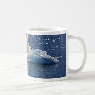 Add SLOGAN to Save Polar Bears Arctic Planet Ice Coffee Mug