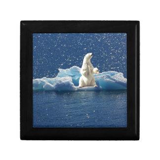 Add SLOGAN to Save Polar Bears Arctic Planet Ice Gift Box