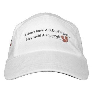 ADD Squirrel Saying Hat