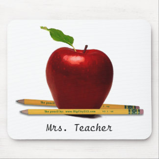ADD Teacher's NAME Mouse Pad