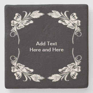ADD TEXT HERE STONE COASTER