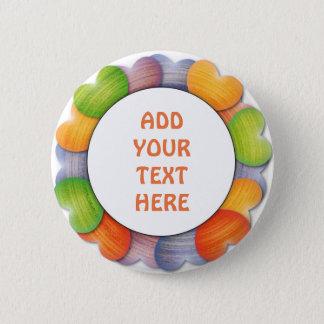 ADD TEXT Standard, 2¼ Inch Round Button