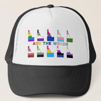 Add The Words Trucker Hat