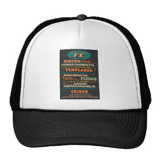 Add to Your Faith  Spanish Bible Verses Trucker Hat