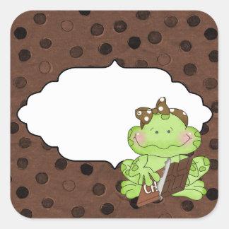 Add Words Chocolate Frog sticker
