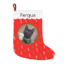 Add Your Cat Photo Christmas Stocking