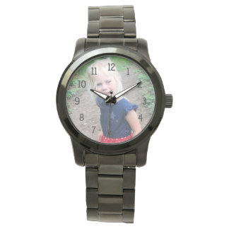 Add your child's photo watch, grandparent gift watch