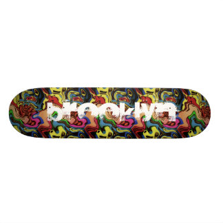 Add Your City Graffiti Abstract Skate Deck