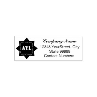 Add Your Company Logo Self-inking Stamp