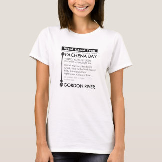Add your date: West Coast Trail T-Shirt