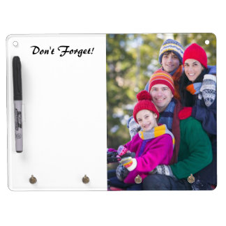 Add Your Family Photo To Do List Dry Erase Board With Keychain Holder