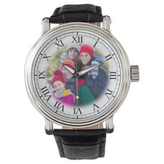 Add Your Family Portrait Fun Personalized Wristwatch