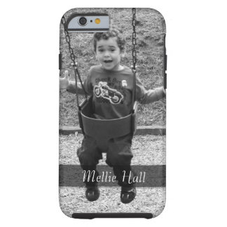 Add Your Favorite Photo and Your Name Tough iPhone 6 Case