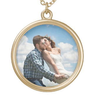 Add your favorite  Photo to this Gold Toned Locket