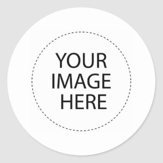 Add Your Image or Text Here Classic Round Sticker