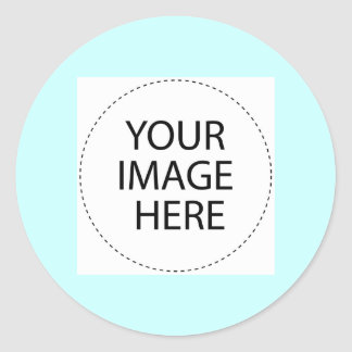 Add Your Image or Text Here Round Sticker