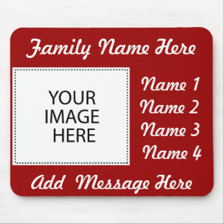 Add Your Image Or Text Mouse Pad