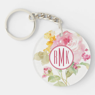 Add Your Monogram | Mid July Keychain