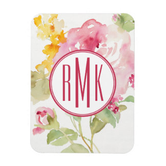 Add Your Monogram | Mid July Rectangular Photo Magnet