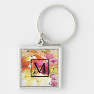 Add Your Monogram | Pattys Plum Keychain